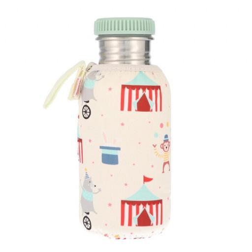 Botella Acero con Funda Circus 500 ml.