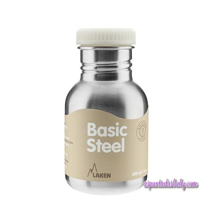 Botella Básica Acero Inox. Laken 0.35L