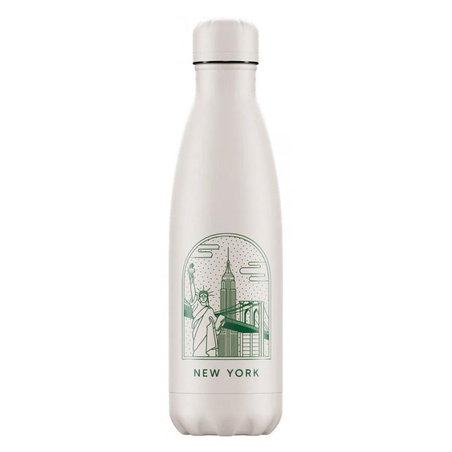 Botella Chilly´s Inox mod. New York 500 ml.
