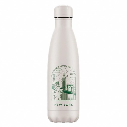 Botella Chilly´s Inox mod. New York 500 ml.
