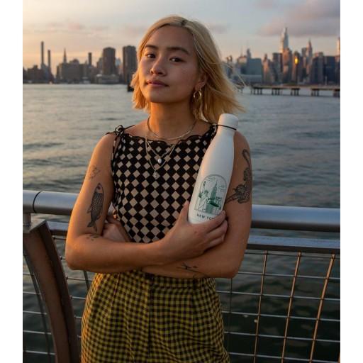 Botella Chilly´s Inox mod. New York 500 ml. [2]