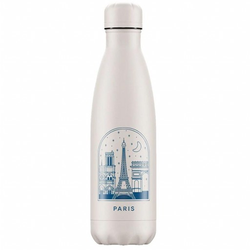 Botella Chilly´s Inox mod. Paris flores 500 ml
