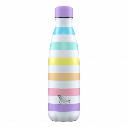 Botella Chilly´s Inox Dock & Bay color Rainbow 500 ml.