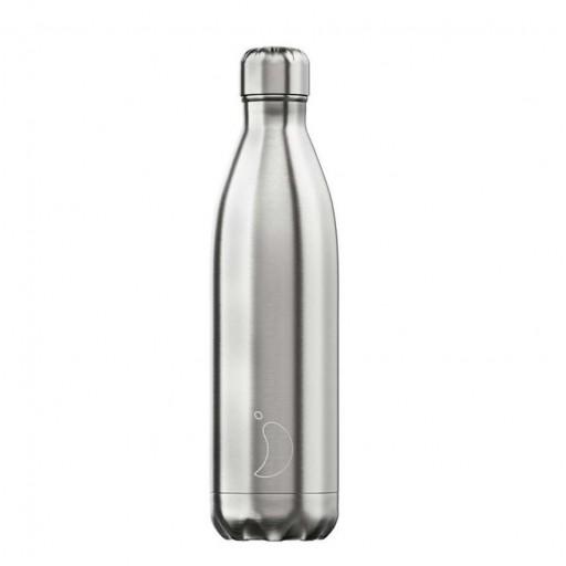 Botella Chilly´s Inox Acero 750 mL.