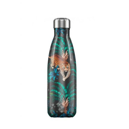 Botella Chilly´s Inox mod. Leopardo 500 ml