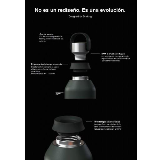 Botella Chilly´s serie 2 color rojo 500 ml. [2]