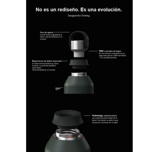 Botella Chilly´s serie 2 color peach 500 ml. [2]