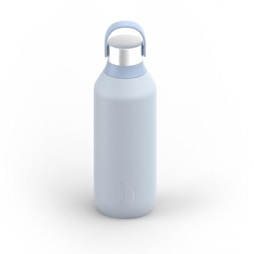 Botella Chilly´s serie 2 color azu hielo 500 ml.