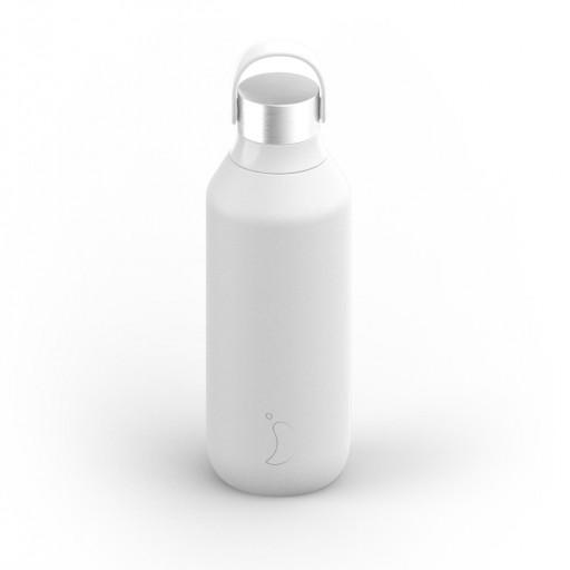 Botella Chilly´s serie 2 color blanco ártico 500 ml.