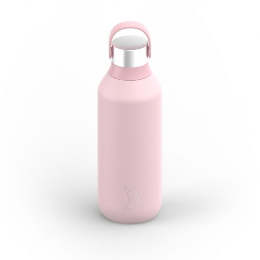Botella Chilly´s serie 2 color rosa blush 500 ml.