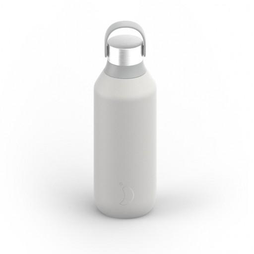 Botella Chilly´s serie 2 color gris granito 500 ml.