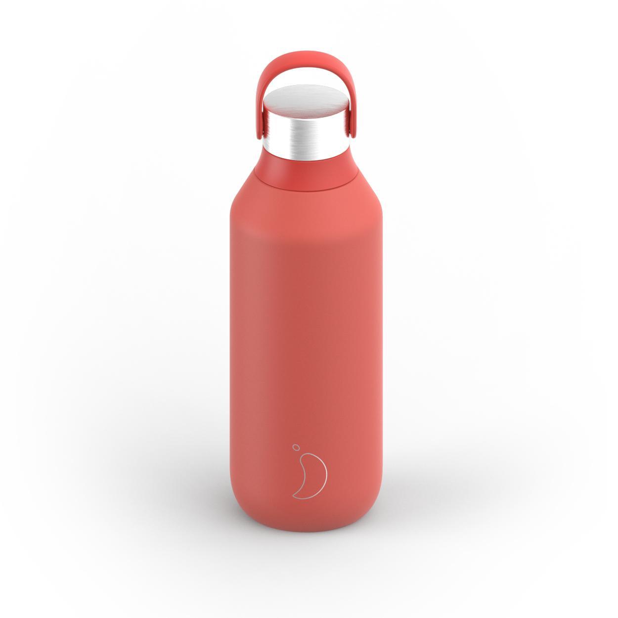 Botella Chilly´s serie 2 color rojo 500 ml.