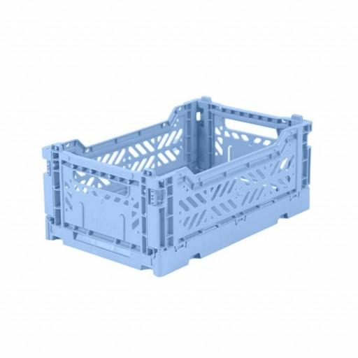 Caja Lillemor Plegable Mini azul