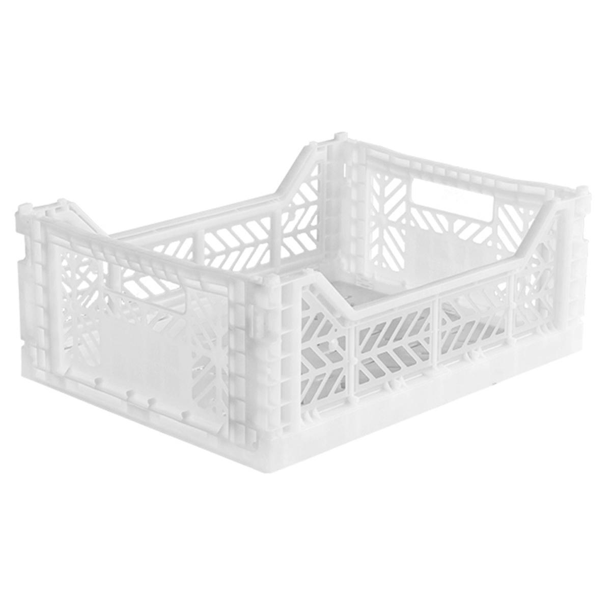 Caja Lillemor Plegable Mediana White