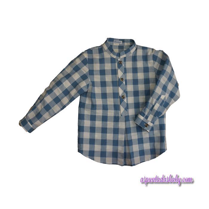 Camisa Ancar Cuadros Azules