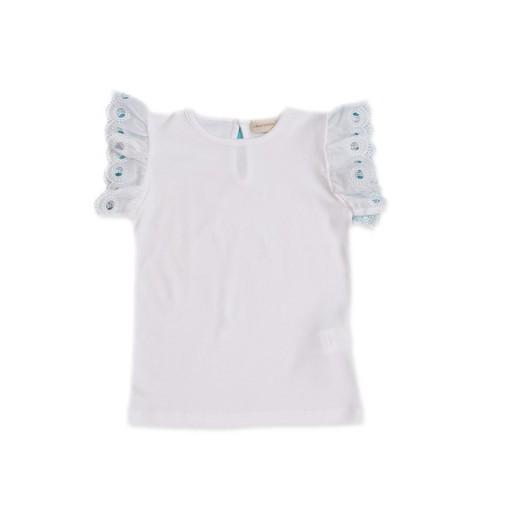 Camiseta César Blanco color blanco.