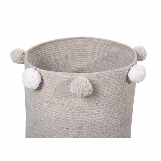 Cesta bebé Lorena Canals mod. Bubbly color gris [1]