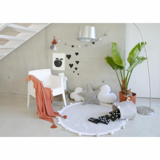 Cesta bebé Lorena Canals mod. Bubbly color gris [2]
