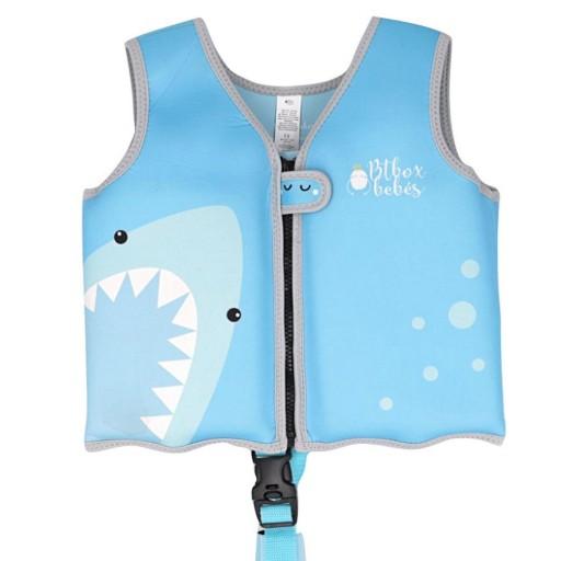 Chaleco Flotador Aprendizaje Tiburón