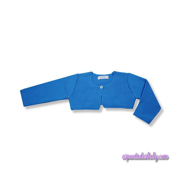 Chaqueta Foque mod. Básicos algodón color azul.