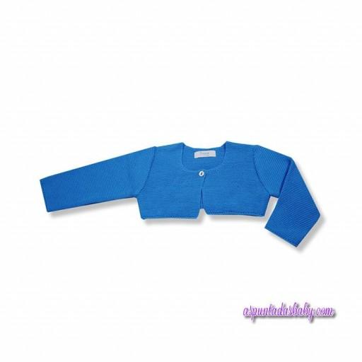 Chaqueta Foque mod. Básicos algodón color azul. [0]