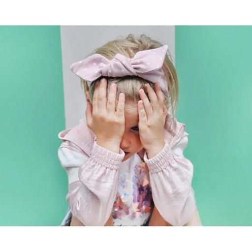 Cinta Infantil para Pelo Pink Dots UL&KA [1]