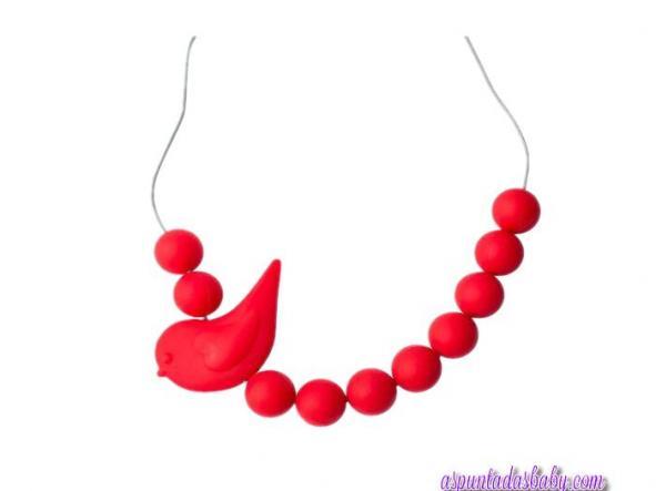 Collar Pajaro Jellystone color rojo. [1]