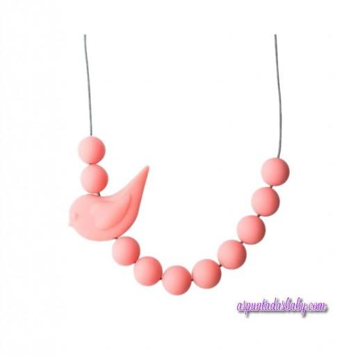 Collar Pajaro Jellystone color rosa.