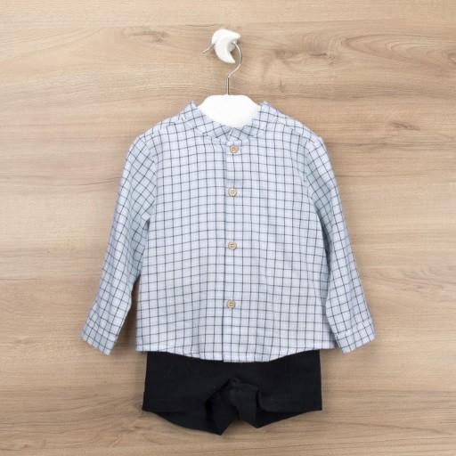Conjunto Babidu pantalón corto + camisa colección Authentic