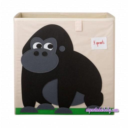 Caja de Almacenaje 3Sprouts Gorila