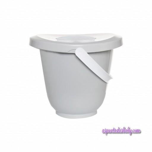 Cubo para pañales light grey de Luma [0]