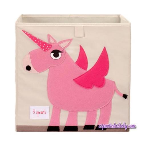 Caja de Almacenaje 3Sprouts Unicornio