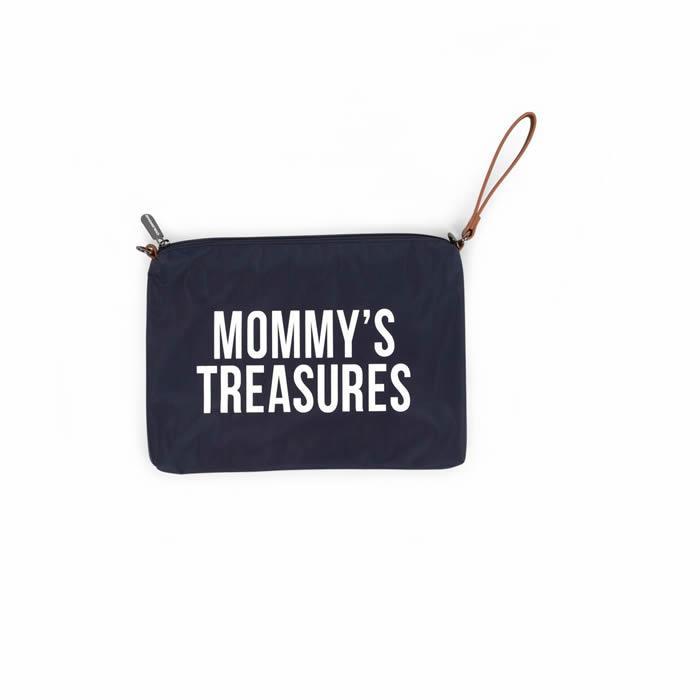 Bolso Pequeño Neceser Mommy Treasures - Navy