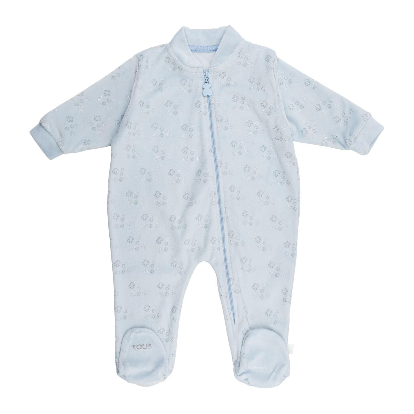 Pelele Baby Tous mod. ConstelT color celeste.