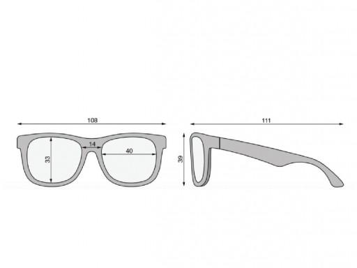 Gafas de sol Navegadores Flexibles Imprimir tiburón (0-24m) [3]