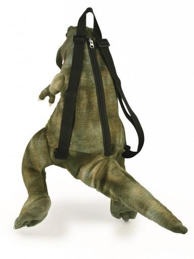 Mochila Dino t-rex con correas ajustables y apertura de cremallera. [1]