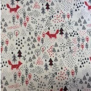 Camisa César Blanco mod.Ciervos color rojo.  [3]