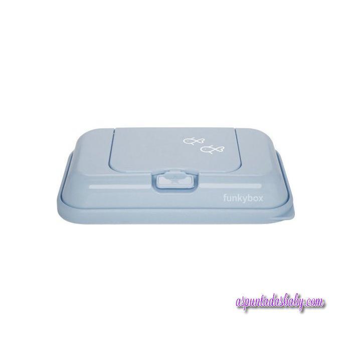 Caja Toallitas Funkybox ToGo mod. Peces azul
