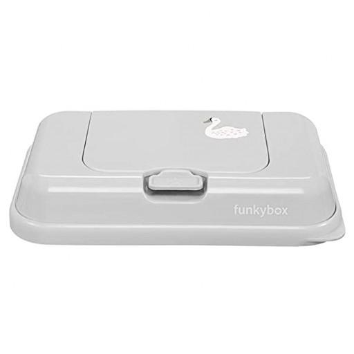 Caja Toallitas Funkybox ToGo mod. Cisne color gris