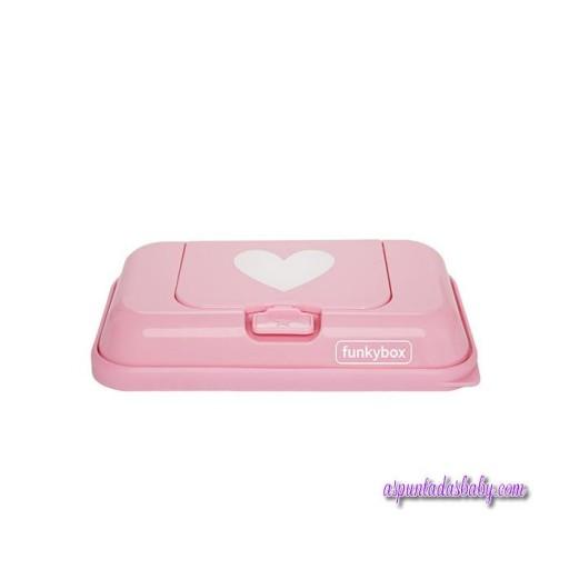 Caja Toallitas Funkybox ToGo mod. Rosa Corazones