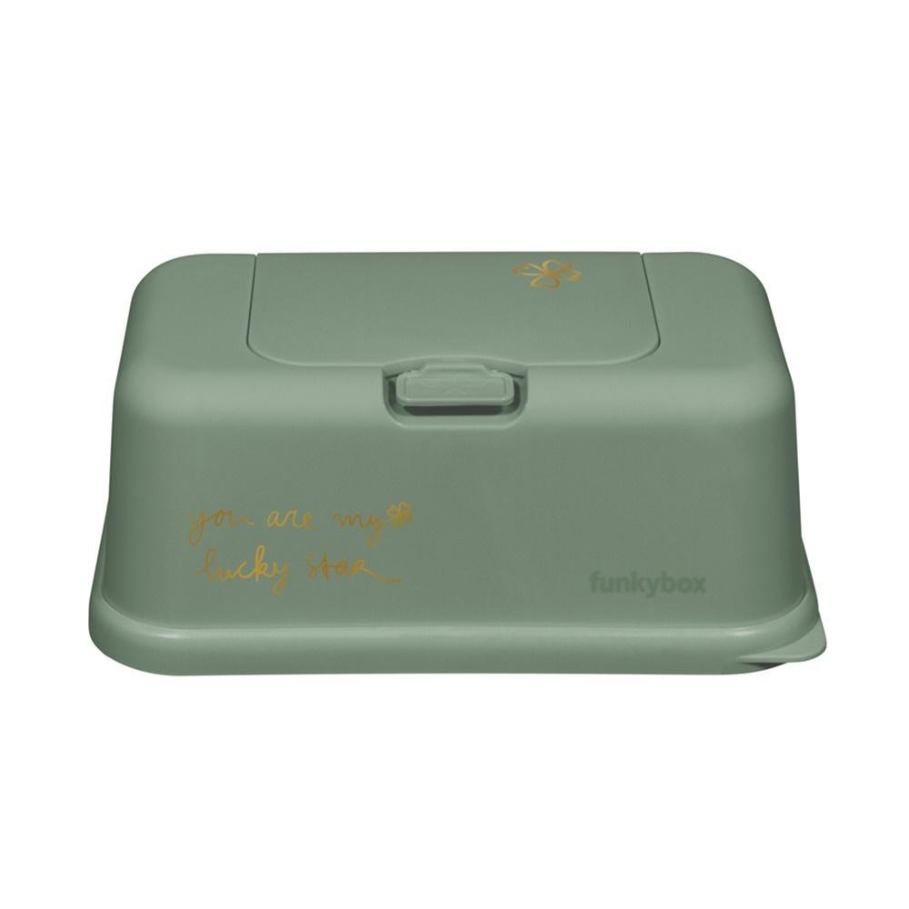 Caja Toallitas Funkybox Verde Trébol