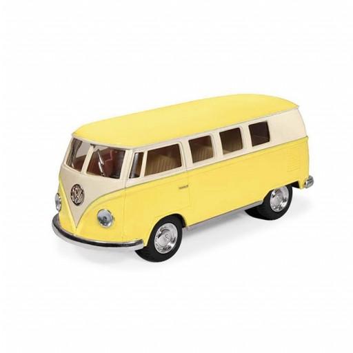 Furgoneta Volkswagen Juguete color amarillo.