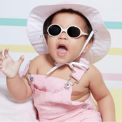 Gafas de sol para bebé – Mod. Diabola color crema: de 0 a 18 meses [2]