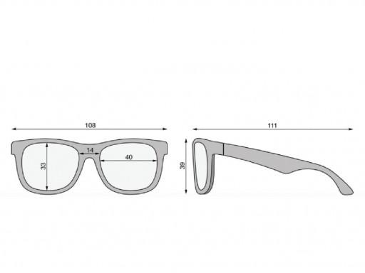 Gafas de sol Flexibles Navegadores Premium Azul Hielo (0-24m) [3]