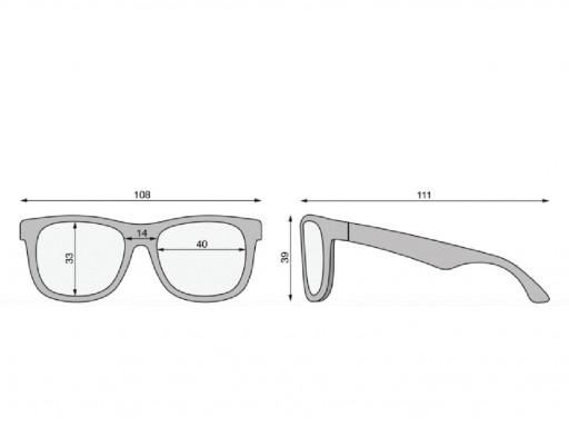 Gafas de sol Flexibles Navegadores Sublime Lime (0-24m) [3]