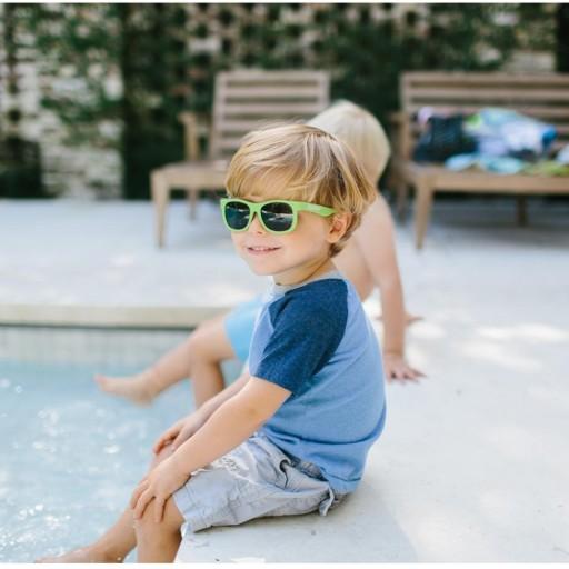 Gafas de sol Flexibles Navegadores Sublime Lime (0-24m) [2]