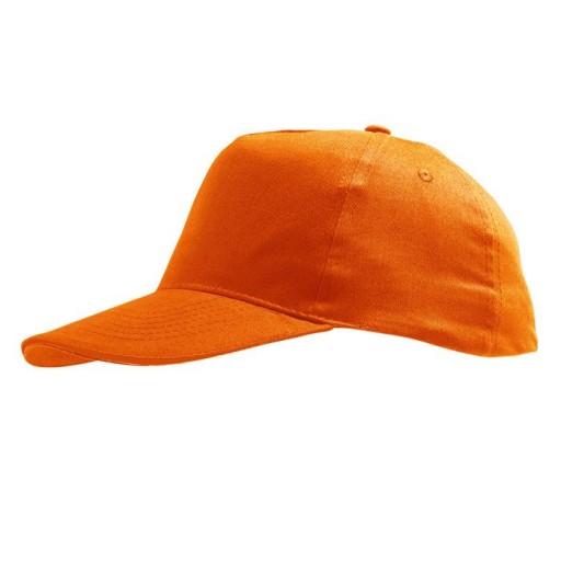 Gorra niño mod. Sunny color naranja.