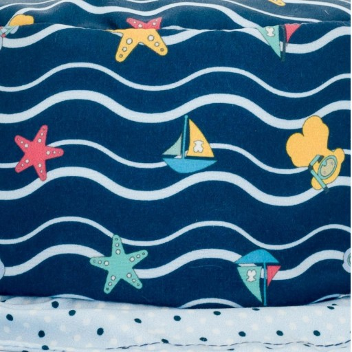Gorro de playa niño Baby Tous mod. Ocean Marino  [1]