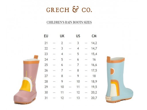 Botas de Agua Light Blue Grech & Co. [2]