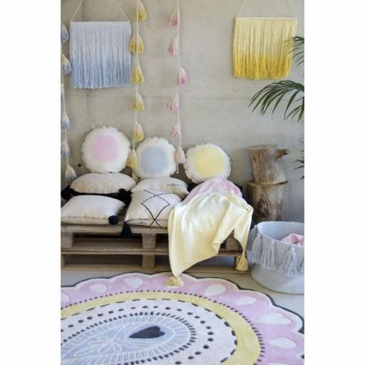 """Guirnalda Pompones """"Lorena Canals"""" mod. Tie-Dye rosa [2]"""